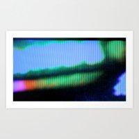 Haze_v_1.1 Art Print