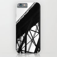 iPhone & iPod Case featuring Waiting for the Train by Jillian Schipper
