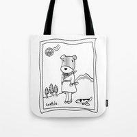 Lolo In Seattle(in Her D… Tote Bag