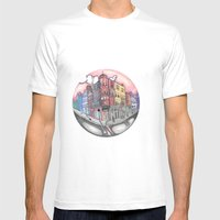 42 Building  Mens Fitted Tee White SMALL
