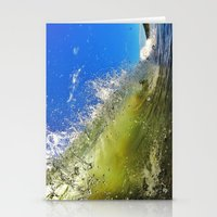 surf Stationery Cards featuring Surf by Nicklas Gustafsson