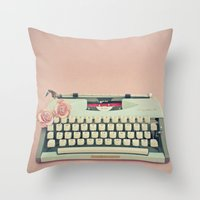 Love Letter Throw Pillow