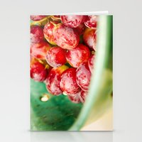 Red Grapes Stationery Cards