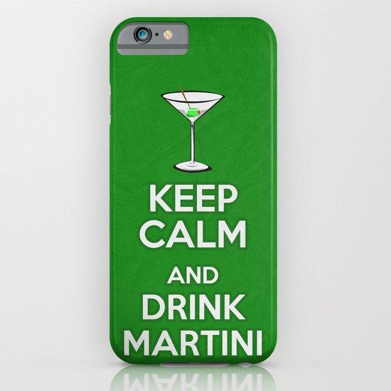 Keep Calm - Martini - Saint Patrick's Day Poster 03 iPhone & iPod Case