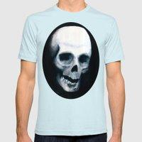 Bones XV Mens Fitted Tee Light Blue SMALL