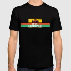 8-Bit Champion Mens Fitted Tee Black SMALL