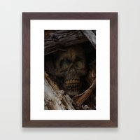 Dead Wood Framed Art Print