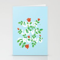 Our Love Grows Stationery Cards