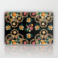 Abstract Floral Pattern Laptop & iPad Skin