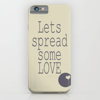 iPhone & iPod Case featuring Spread Some LOVE by QianaNicole PhotoARTography