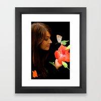 Beauty Communication Framed Art Print
