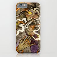 iPhone & iPod Case featuring Smoke and Flame by JoJo Seames