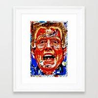 Shillary Sanders Framed Art Print
