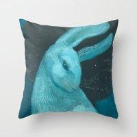Celestial Sky Ghost Throw Pillow