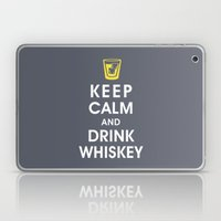 Keep Calm and Drink Whiskey Laptop & iPad Skin
