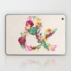 Floral Ampersand Laptop & iPad Skin