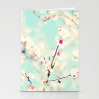 Spring. Stationery Cards