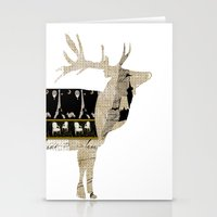 My New French Coat Stationery Cards
