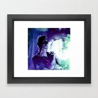... Like Tears In Rain..… Framed Art Print
