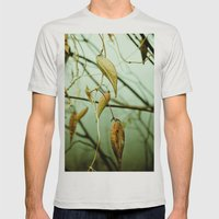 Entangled Lives Mens Fitted Tee Silver SMALL