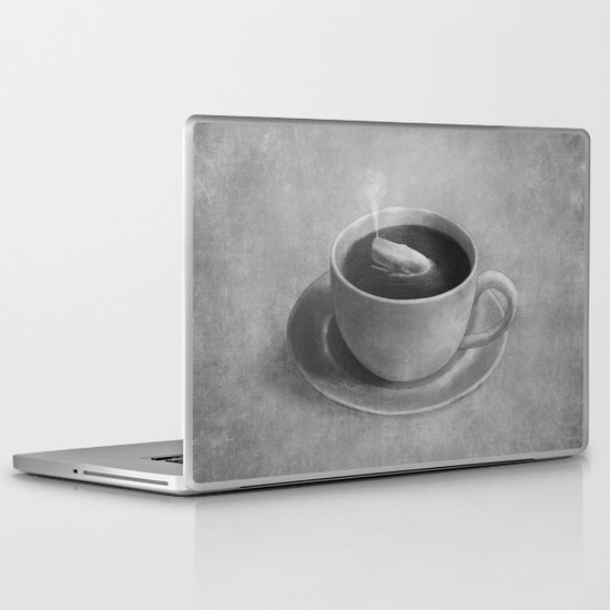 Whale in a tea cup  Laptop & iPad Skin