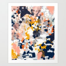 Stella - Abstract Painti… Art Print