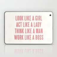 Boss Laptop & iPad Skin