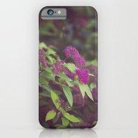 purple flower. iPhone 6 Slim Case