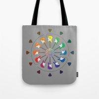 Vivid Melody Tote Bag
