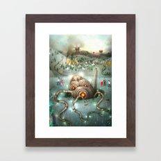 War of the worlds Framed Art Print
