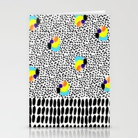 Tropical Abstract Stationery Cards