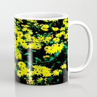 Yellow Flowers (Edited)  Mug