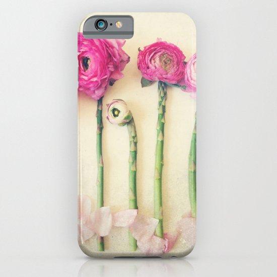 Hello Little Flowers iPhone & iPod Case