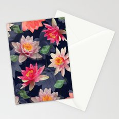 Lotus Flower Pattern #2 Stationery Cards