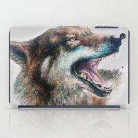 Wolf smile iPad Case
