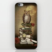 The Bibliophile - (the lover of books) iPhone & iPod Skin