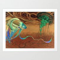 Greetings [from The Othe… Art Print