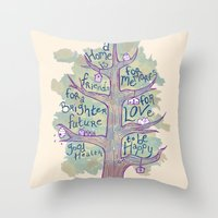 A Home Is Throw Pillow