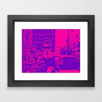 Style Icon Framed Art Print