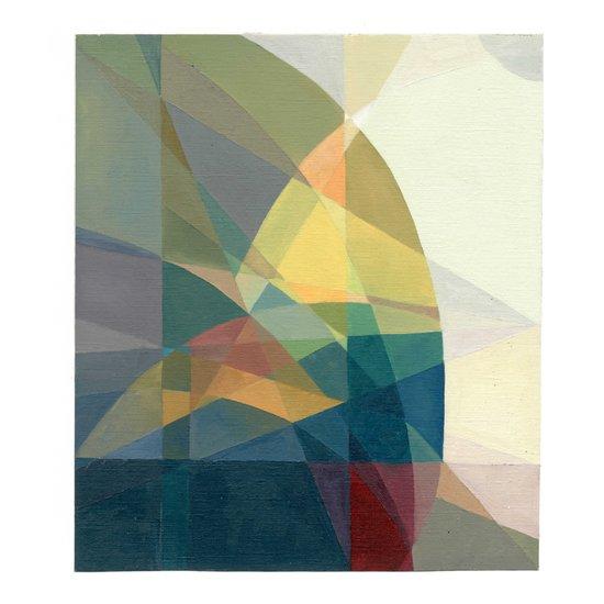 Color Geometry Art Print