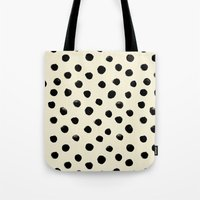 Vintage Watercolor Dots … Tote Bag