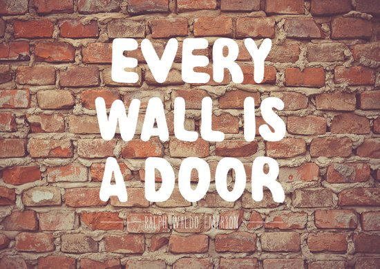 Every Wall is a Door Art Print