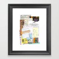 Bills Framed Art Print
