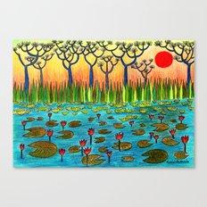 Nymphaeas Canvas Print