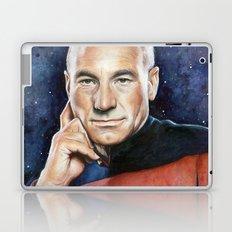 Captain Picard Portrait Laptop & iPad Skin