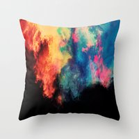 Painted Clouds V.I Throw Pillow