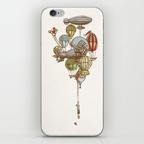The Great Balloon Adventure iPhone & iPod Skin