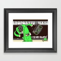 V. Vaughn Framed Art Print