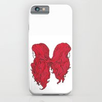 iPhone & iPod Case featuring Hair I by Emilia Olsen