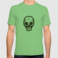 Skull Mens Fitted Tee Grass SMALL